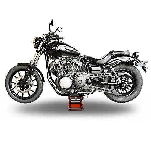 Motorcycle jack scissor lift constands m orange for Sollevatore harley davidson